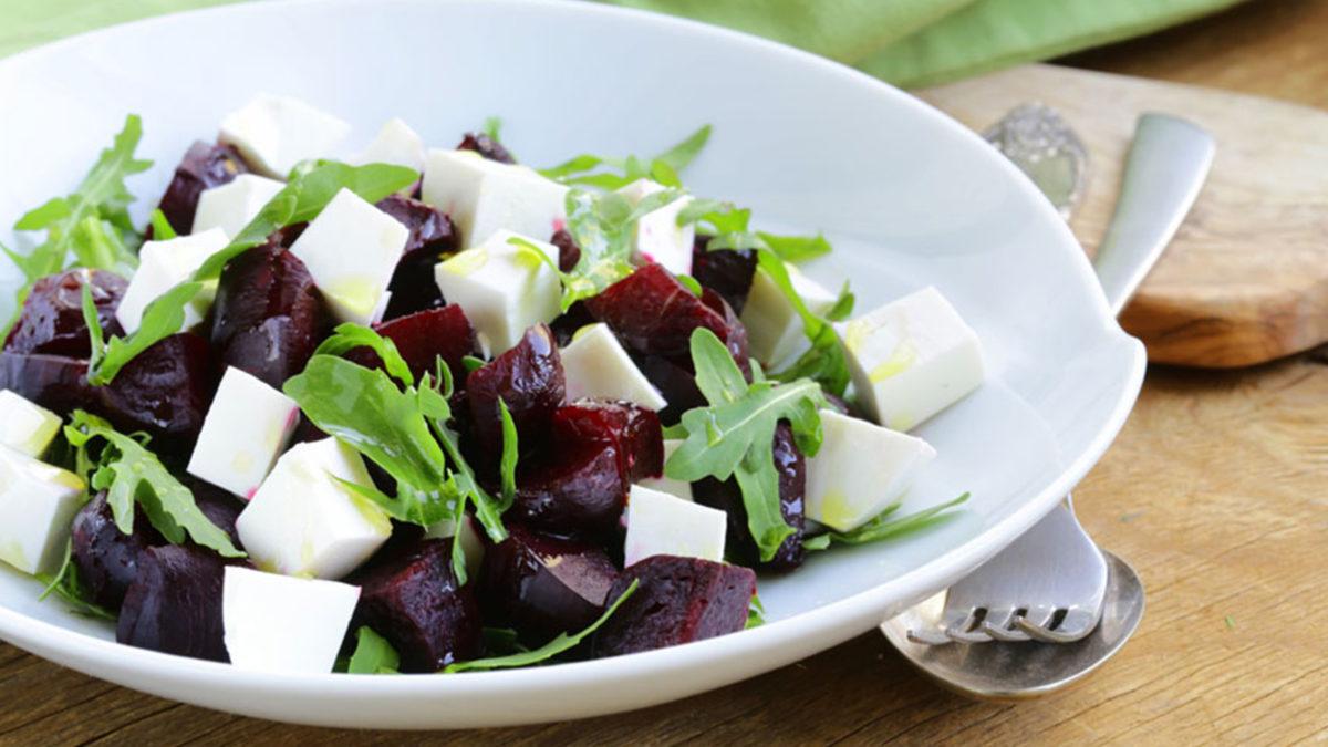 Рецепт салата с антоцианами